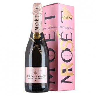 Moet Rose 0.75 L Gift Box