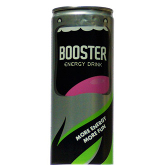 Booster energy drink 0.25 lim