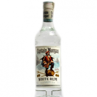 Rum Cptn Morgan White 0.7 L