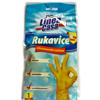 Rukavice latex L Linea Casa